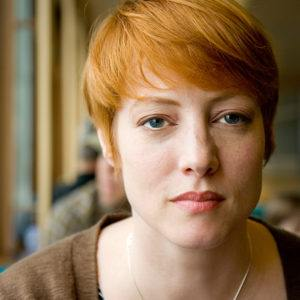 Woman with Orange Hair