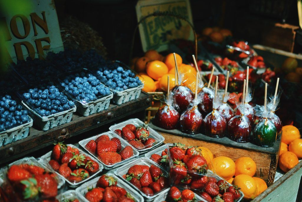 foods that whiten your teeth include strawberries